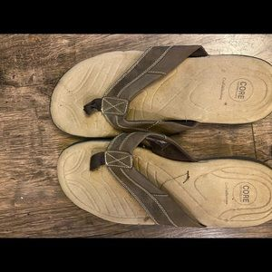 Croft and barrow thong sandals